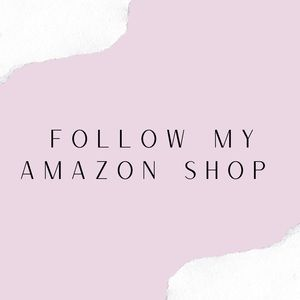 Follow my Amazon shop